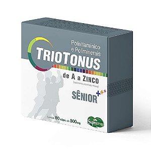 TrioTonus SÊNIOR - POLIVITAMINICO - 60 CÁPSULAS - Blister