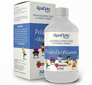 PoliKids + Vitamin 240 ml - ApisNutri