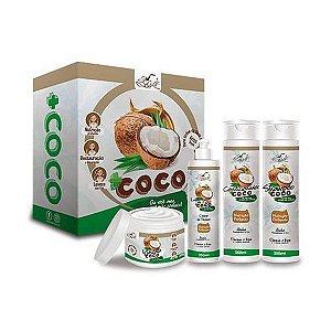 Kit Capilar Mais Coco (4 itens) - Belkit