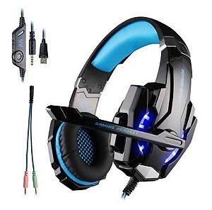 Fone Headset com Fio Gamer Dex DF-81