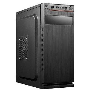 Computador, Gabinete com fonte, Processador AMD AM4 A10-9700, Placa Mãe Biostar A320M, Memória DDR4 8GB, SSD 120GB