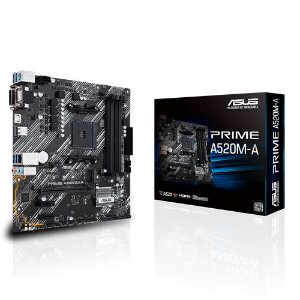 Placa Mãe Asus A520M-A Prime