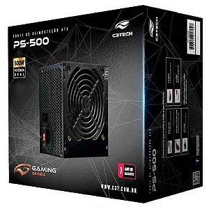 Fonte Atx Real C3 Tech PS-500BK