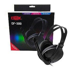 Fone Headset com Fio Dex DF-300