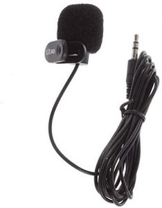 Microfone Lapela 8017