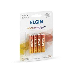 Pilha AAA Elgin Zinco LW01