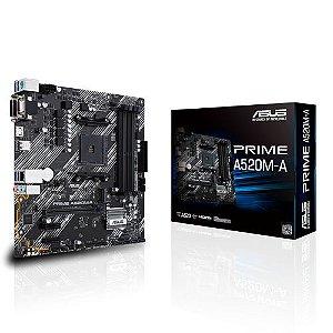 Placa mãe Asus Prime Asus Prime A520M-A