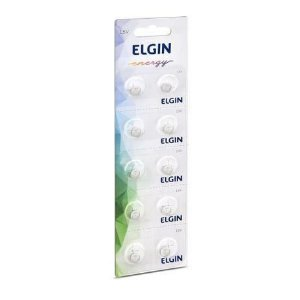 Bateria Alcalina Elgin LR41/AG3