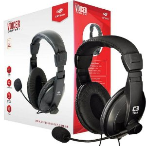 Fone Headset C3 Tech Voicer MI-2260 ARC