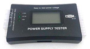 Testador de Fonte ATX Dex AT-01