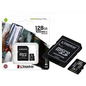 Cartão de Memória Kingston 128GB
