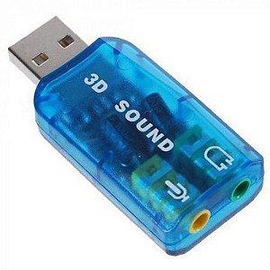 Adaptador de Som USB Xtrad XT2026