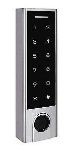 Controle de Acesso AGL FP-100 Abertura  via bluetooth, biometria e senha