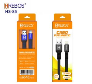 Cabo para Iphone Turbo Hrebos HS-85