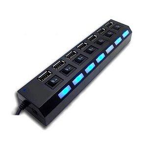 Hub USB Xtrad 7 Portas 2.0 XT2067