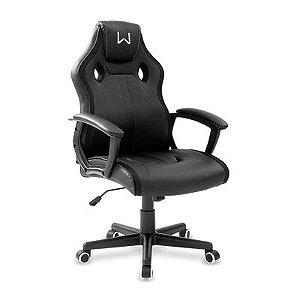 Cadeira Gamer Karna Reclinável Preta Warrior - GA201