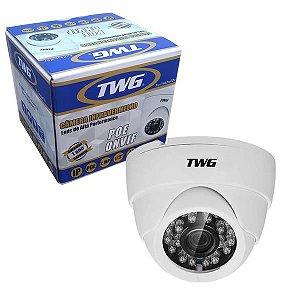 "Camêra Infravermelho TWG TW-3136 POE IP 2MP 1/3"" 24 LEDS"