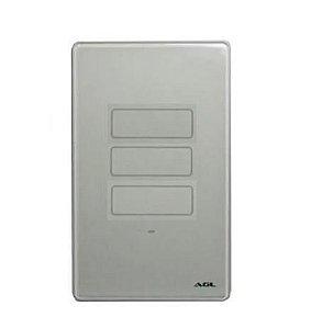 Interruptor Inteligente Wifi Touch 3 Teclas AGL