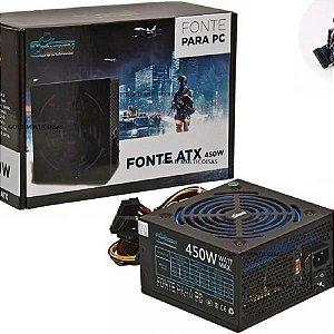Fonte ATX Real Cowboy 450W KP-533