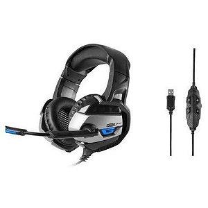 Fone Headset Gamer Dex USB DF-101