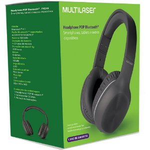 Headphone Bluetooth Multilaser PH246