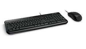 Teclado E Mouse Com Fio Desktop 600 Usb Microsoft - APB00005