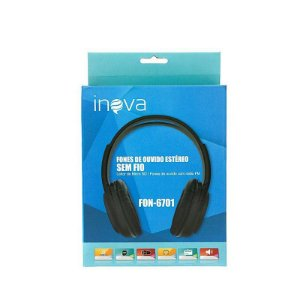 Headphone Bluetooth Inova FON-6701