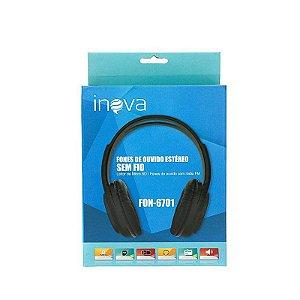 Headphone Bluetooth Inova FON-6701