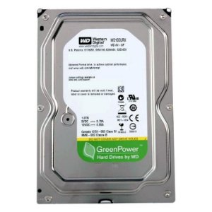 HD Interno 1TB Western Digital Green Power