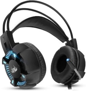 Fone Headset com Fio Gamer Knup Kp-464