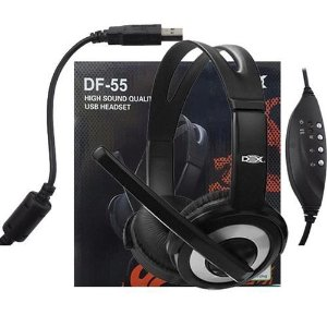 Headset com Fio Dex DF-55