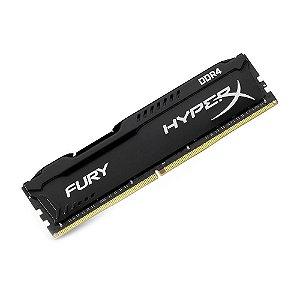 Memória DDR4 8GB  Kingston HyperX Fury 2666MHz