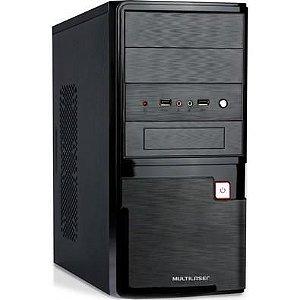 Computador, Gabinete Multilaser com Fonte 200W, I3 9100, Placa Mãe H310, Memória DDR4 4GB, HD 500GB, Teclado e Mouse