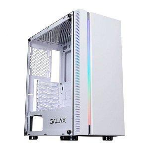 Computador, Gabinete Gamer GX600-WH, I7 9700, Placa Mãe H310, Placa de Vídeo GTX 1050TI, 2 Memórias DDR4 4GB, SSD 1T, Fonte 500W, Water Cooler, Kit Cooler RGB