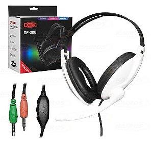 Headset com Fio Gamer Dex DF-300