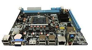Placa Mãe H61 BPC-H61M-T Brazil PC