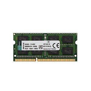 Memória Notebook L DDR3 8GB Kingston 1600MHz