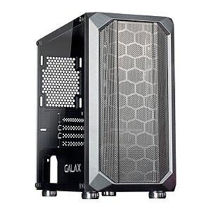 """Computador, Gabinete Gamer Galax GX700, I3 2100, Placa Mãe H61, Placa de Vídeo GTX550TI, Memória DDR3 8GB, SSD 240GB, Fonte 500W, Monitor 19"""", Teclado e Mouse Gamer"""