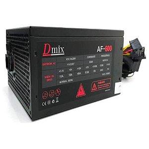 Fonte Dmix 600W AF-600