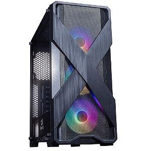 Computador, Gabinete Gamer Redragon, Ryzen 5 3600, Placa Mãe A320, Placa de Vídeo GTX 1050 TI, Memória DDR4 8GB, SSD 480GB, Fonte 500W,