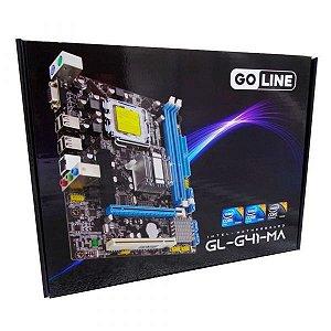 Placa Mãe Go Line G41GL-G41-MA