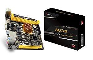 Placa Mãe Biostar A68N com processador integrado AMD E1