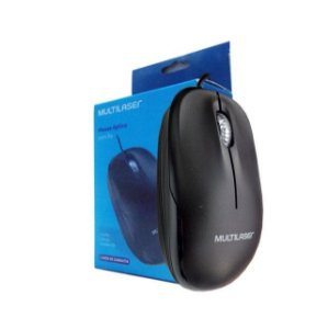 Mouse com Fio Multilaser MO255