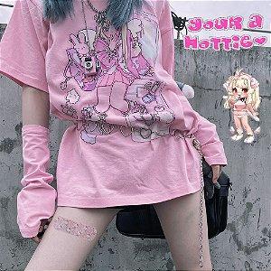 Camiseta Manga Luva ANGEL