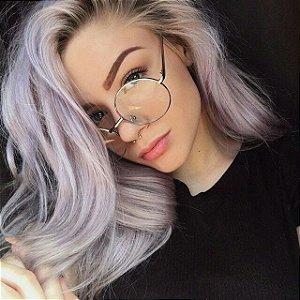 Óculos Retrô Redondo - Grande - Várias Cores