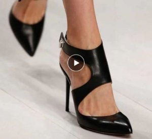 Scarpin de Couro BLACK NIGHT