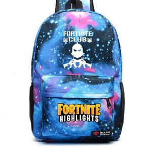 Mochila de Nylon FORTNITE CLUB: HIGHLIGHTS - Diversas Cores