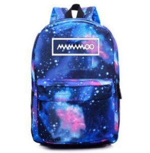 Mochila Universo KPOP Galaxy - Duas Cores