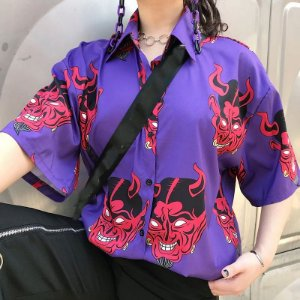 Camisa Manga Curta & Longa DEVILISH - Duas Cores