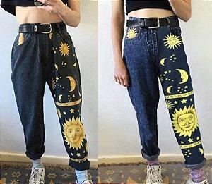Calça Jeans SUN & MOON - Duas Cores